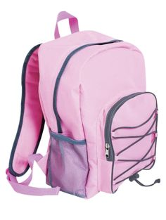 Raikkaan vaaleanpunainen reppu sopii moneen menoon. Siihen pakkaat niin koulutarvikkeet kuin harrastusvälineetkin! Repussa on iso vetoketjullinen etutasku ja verkkotaskut sivuissa. Koko 40 x 28 x 12 cm. Hinta vain 6,90 €!!