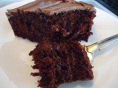 Thrifty Mom In Boise: Vegan Chocolate Cake