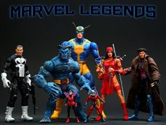 Marvel Legends Series 4  //  Pinned by: Marvelicious Toys - The Marvel Universe Toy & Collectibles Podcast  [ m a r v e l i c i o u s t o y s . c o m ]