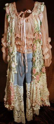 I should have been a gypsy ;-)  Duster as seen on home page...LOVE Magnolia Pearl