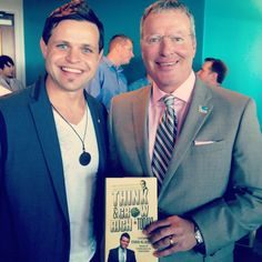 I had a chance to meet with the Mayor of the City of Orlando, Buddy Dyer what a great guy with an amazing vision for local Entrepreneurs. Great things will be happening in this City Excited to be a part of it:-) Of course he got a singed copy of my book lol  #Mayor #BuddyDyer #Orlando #Business