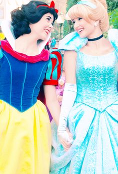 I love how the Princesses love each other and are like best friends