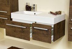 FOKUS meble łazienkowe szafka 100 antyczne drewno (5342999410) - Allegro.pl - Więcej niż aukcje.