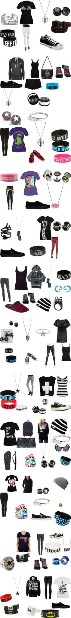 """Awesome sets!"" by keyanna-bvb ❤ liked on Polyvore"