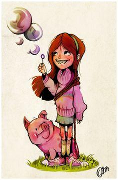 Mabel by Jenseri.deviantart.com on @deviantART