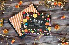 Halloween Candy Bash Invites from Tiny Prints