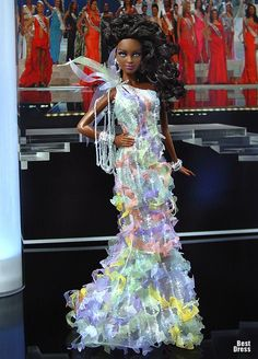 Ninimomo's Barbie.  The Caribbean.  2009/2010  Miss Antigua