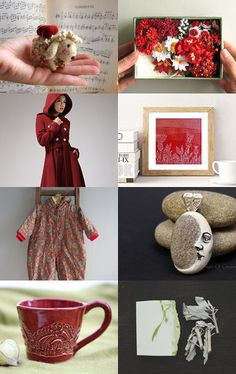 Red box by Mammabook on Etsy--Pinned with TreasuryPin.com