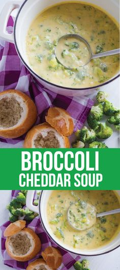 Food: Broccoli Cheddar Soup - a delicious recipe to try out that will warm you right up! via www.thirtyhandmadedays.com