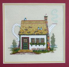 1097 Old Dutch Teapot by Just Libby (Sturdy) Designs