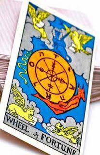 myglitteringworld: Wheel of Fortune -- Major Arcana