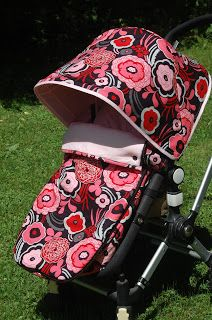 Maine Baby Treats - Custom Bugaboo Stroller Covers: Black Mocha - Custom Set