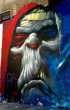 Graffiti Art, Grafitti Street, Graffiti Drawing, Murals Street Art, 3d Street Art, Amazing Street Art, Arte Grunge, Grunge Art, Graffiti Characters