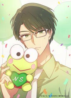 Sanrio Hello Kitty, Sanrio Boy, Little Twin Stars, Keroppi, Sailor Moon Wedding, Sanrio Danshi, Fandom, Handsome Anime Guys, Cute Anime Pics