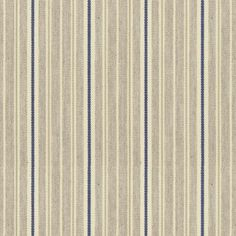 Vintage Stripe 4 Airforce is a neutral cotton fabric, which features multiple classic Ian Mankin stripes. Striped Fabrics, Upholstered Furniture, Air Force, Cotton Fabric, Neutral, Stripes, Stylish, Vintage, Design
