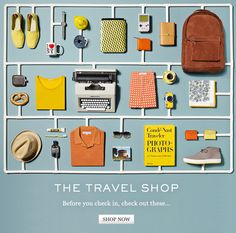 Mr. Porter - The Travel Shop.