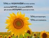 Leader in Me Growth Mindset Affirmations