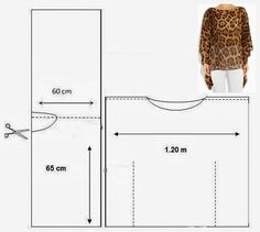 versión universal de una túnica con sus propias manos