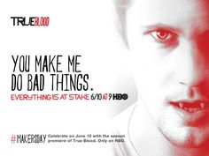 Sunday is #MakersDay. Thank the person who made you a #TrueBlood addict. http://makersday.com  @truebloodhbo