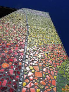 Posion Voima art piece is 8 meters high and 20 meters wide Interior Design Companies, Ceramic Design, Homeland, Finland, City Photo, Centre, Art Pieces, Ceramics, Architecture