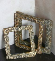 how to : picture frames from craft sticks and lace