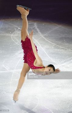 Japan's Murakami wins Four ContinentsTAIPEI, Taiwan - Kanako Murakami of Japan performs during an exhibition gala at the Four Continents Figure Skating Championships in Taipei on Jan. 25, 2014. Murakami won the championships. Her compatriot Satoko Miyahara was second. (Photo by Kyodo News via Getty Images)