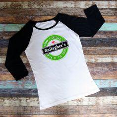 Milk Of The Gods / Gallagher's / Shameless / Frank's Brew / Tshirt / Raglan Shirt by JamminThread on Etsy