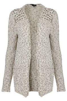 Knitted Stud Tweed Cardigan  $84.00