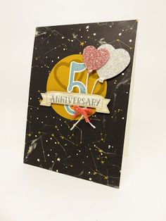 Stampin Utopia Bestel Stampin' Up! Hier. Happy Anniversary. balloon bouquet punch, ballon pons, anniversary card, large numbers, going places, huwelijkskaart,