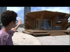 Fully-customized, modular solar house is 3D printed prefab    It looks bizarre, but it's pretty damn cool.  :-)