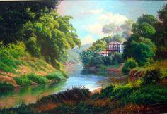 pintura al oleo paisajes faciles - Buscar con Google