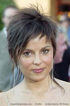 Short Asymmetrical Hairstyle with Long Pieces - Beautiful Hairstyles