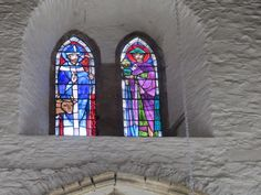 Stained Glass Window, Duiske Abbey, Co. Kilkenny.