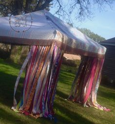Boho Curtains Rustic Rag Fabric Ribbon Garland Backdrop