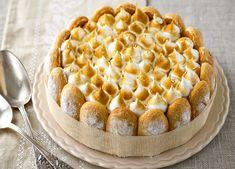 Découvrez la recette savoureuse de la charlotte au citron. Un dessert parfait pour un repas de fête !