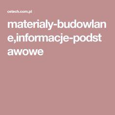 materialy-budowlane,informacje-podstawowe