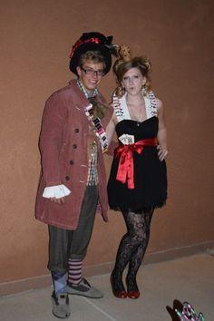 DIY Mad Hatter Costume / DIY Queen of Hearts // DIY Halloween Costume