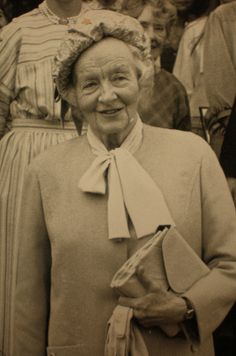 Ruth Lady Fermoy, lady in waiting to the Queen Mother, and maternal grandmother of Princess Diana