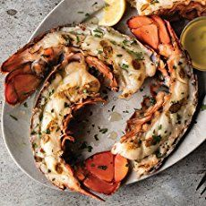 Upgrade your steak dinner with Maine lobster tail halves. Upgrade your steak dinner with Maine lobster tail halves. Upgrade your steak dinner with Maine lobster tail halves. Upgrade your steak dinner with Maine lobster tail halves. Broiled Lobster Tails Recipe, Broil Lobster Tail, Steamed Lobster, Steak And Lobster, Grilled Lobster, How To Cook Lobster, Lobster Recipes, Seafood Recipes, Seafood