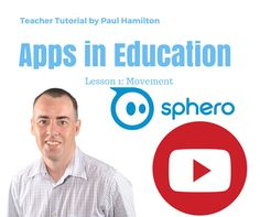 Sphero Robot Teacher Tutorial Lesson 1 Basic Movement