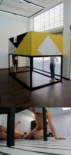 La relación del hombre con los fragmentos de su espacio es la que el artista mexicano Rodrigo Red analiza con su obra arquitectónica y fotográfica.