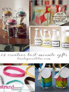 Untitled 1 24 last minute christmas gifts to make