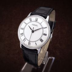 Raketa Vintage Classic Slim Style Soviet Dress Watch - mens watch, minimalist watch, raketa watch, ladies watch, zaria, wostok, luch by BestVintage4You on Etsy
