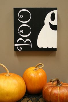 Boo canvas!