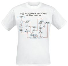 tBBT The Frienship Algoritm - Men`s | The Big Bang Theory | The A Factor Shop