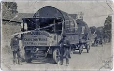 Steam lorries from Western Counties Haulage Company, Possibly in newton Road, Twerton, Gas Turbine, Picture Boards, Commercial Vehicle, Steam Engine, Best Sites, Tractors, Westerns, Trucks, Signs