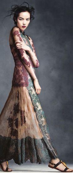 Dress for Lady Tarly | Autumnal beauty ~ Cortigiana 2016