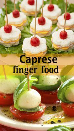 Caprese finger food