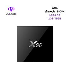 MEMOHi MEMOBOX X96 Android TV Box Amlogic S905X quad core support 4K 2K H.265 KODI 16.1 Smart TV Box PK A95X 4K Media Player X96