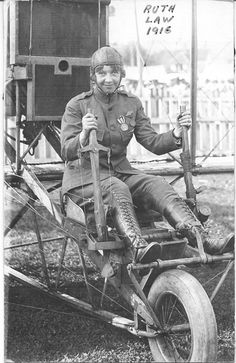 June 10, 1919: Ruth Law of the United States breaks the women's altitude record, flying to 14,700 feet (4,481 m).
